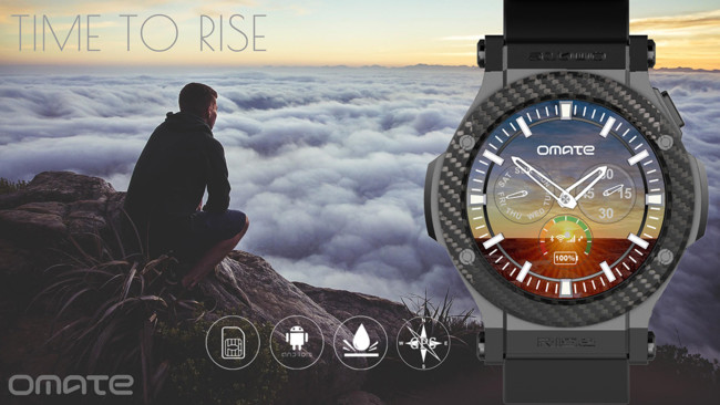 Omate Rise Android Smartwatch